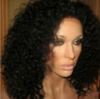 Charming Kinky Curly 100% indian remy human hair full lace wig 1#1b#2#4#1b/30#