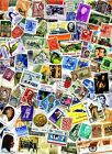100+ WORLDWIDE Stamps OFF PAPER Buy 5 Get 1 FREE!