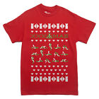 XXX SEXY UGLY CHRISTMAS SWEATER STYLE T-shirt shirt MEN'S SIZES S-XXL