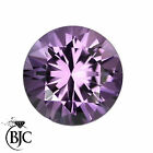 BJC® Loose Amethyst Brilliant Round Cut Stones 2.00mm - 8.00mm Natural Untreated