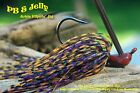 Old Hippy Custom Arkie Flipping Jig - Peanut Butter & Jelly (PB&J)