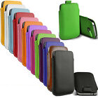 Delux Celeste Leather Pouch Sleeve Skin Cover Case For iPhone 5 5S 5C