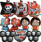 Pirate Ship Skull Cross Bone Balloon Party Supplies Ocean Treasure Hunt - 1Piece
