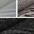 Loose Knitted Glitter Shawl Fabric Various Colours *Per Metre