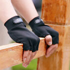 Mens Half Finger Tactical Glove Protective Gear Work Glove For Gym Camping Sport