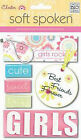 Soft Spoken Scrapbooking Dimensional Sticker Embellishments (you choose style)
