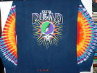 """GRATEFUL DEAD """"STEAL YOUR LIGHTNING"""" 2-SIDED LONG SLEEVE TIE DYE T-SHIRT NEW"""