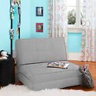 Fold Down Chair Flip Out Lounger Guest Bed Sleeper Couch Game Dorm CHOOSE COLOR