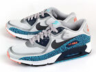 Nike Air Max 90 CMFT PRM Tape Running Geyser Grey/Grey-Blue Zebra 616317-004