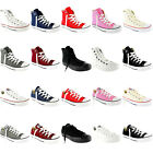 Mens Converse All Star Hi And Ox Chuck Taylors Trainers Sneakers All Sizes