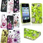 Colors Heart Flower Spring Blossom Various Pattern Case Cover For iPhone 4 4S