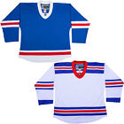 New York Rangers Hockey Jersey   NHL Style Replica Style  NO LOGO  DJ300 $32.06 USD on eBay