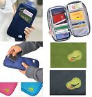 Travel Wallet Organizer Credit Card Passport Holder Cash Purse Case Bag Handbag