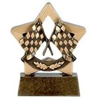 "3.25"" Racing Mini Star Trophy FREE Engraving UpTo 30 Letters option Of Box"