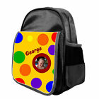 Personalised Child's Yellow Spotty Ruck Sack Back Pack Bag / Ideal for any Child