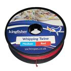 Kingfisher Medium Whipping Twine - 20m (65ft) : Available in Red + Black