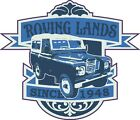 ROVING LANDS CARTOON TEE SHIRT LAND ROVER SERIES 3 DUNSFOLD BILLING ART DECO