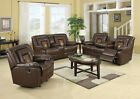 Cobra Reclining Sofa Loveseat Recliner Sofa Set, Luxurious Living Room Furniture