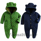 """NWT Vaenait Baby Boy Hoodie Snowsuit Padded Jumpsuit All-in-one """"Bear Padding"""""""