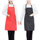 Plain Kitchen Apron with Front Pocket for Chef Butchers Cooking Baking UK