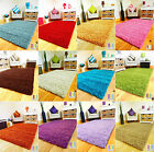 MEDIUM X LARGE THICK SOFT LUXURIOUS MODERN PLAIN SHAGGY 5CM PILE CARPET RUG MAT