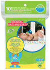 10 Pack Disposable Multi-Purpose Absorbent Pads Burp Cloth High Chair Car 58227