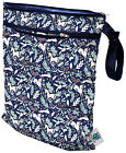Planet Wise Medium Reusable Wet & Dry Cloth Diaper Bag Travel Swimming - 868802