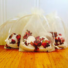 Heart Bath Bomb -  Wedding Favour - Mother's Day  FREE Organza Bag Great Gift!!