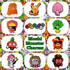 10 x Moshi Monsters Poppet Charms Jibbitz for Shoes Jewellery Hair Cake Toppers