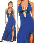 Hot Women Evening Party Prom Gown Halter Long Fashion Bridemaids Dress 6-16 8548