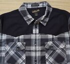 HELIX MENS CLASSIC WESTERN CUT ATHLETIC FIT COTTON/POLY BUTTON-UP SHIRT LIST $44