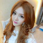 3 Colors New Carve Style Women Girls Sexy Long Fashion Curly Full Wavy Hair Wig