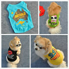Lovely Gift Various Pet Puppy Small Dog Cat Pet Clothes Vest T Shirt Apparel
