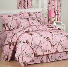 Realtree Camo Bedding Comforter Set W/ SHAMS Twin Full Queen King Girls Womens