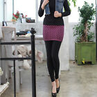Ball pattern skirt leggings Woman Fashion stretchy pants Lady Clothing