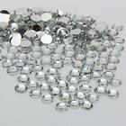 3MM 1000-10000 pcs clear sparkling Resin Rhinestone Flatback Crystal  14 Facets