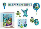 DISNEY MONSTERS INC UNIVERSITY BIRTHDAY PARTY DECORATIONS PIXAR
