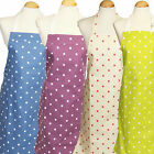 9 - 12 yrs cotton apron ** spot designs ** Made in UK **