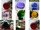 Hot Sell 8 colors Asian Quartz colored glass Crystal Ball Sphere 38mm With Stand