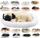Breathing Sleeping Puppies Dog Nap Ornament ANIMATED SNOOZING kids toy pet