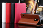 Genuine Real Cowhide Leather Flip Phone Case Cover fo Samsung Galaxy S5 S 5