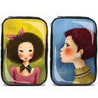 Cosmetic pouch Enamel Travel Makeup bag Pencil Case Storage Purse Tina