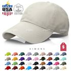 New Polo Style Baseball Cap Ball Caps Hat Adjustable Visor Solid Washed Cotton