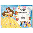 i13/blue Personalised Birthday party invitations invites 7th 8th 9th 10th 11th