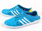 Adidas Court Adapt Slip-On Perforated Casual Sandals Solar Blue/White/Sun F39237
