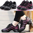 Brand New Hot Womens Jazz Hip Hop Dance Shoes Breathable Sneakers Dancewear
