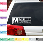 Rated M Morbid Decal sticker undertaker horror zombie death undead