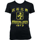 9115 HANS TOURNAMENT Ladies T-SHIRT by ENTER THE DRAGON kung fu BRUCE LEE