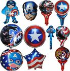 CAPTAIN AMERICA SUPERHERO BALLOON BIRTHDAY PARTY SUPPLIES LOLLY BAG FILLER GIFT