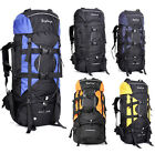 Large outdoor sports bags mountain backpacks camping hiking rucksacks raincover